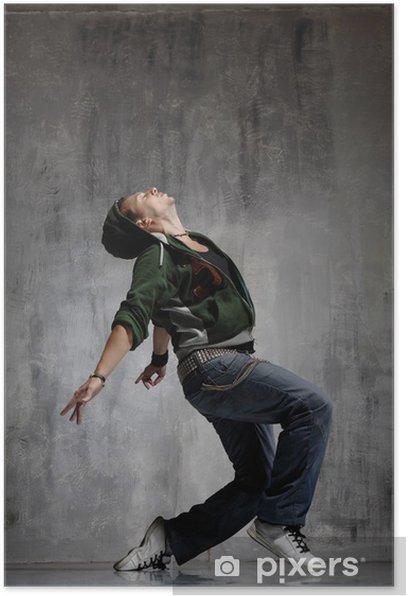 Poster Tänzerin - Themen