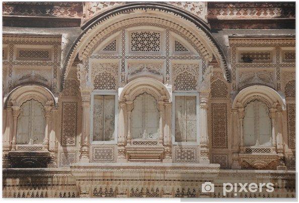 Poster Tempel in Indien - Asien