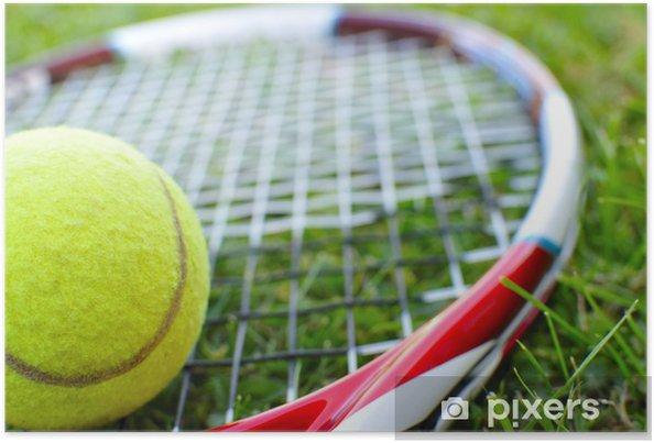Poster Tennis - Themen