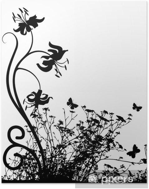 Poster Tiger lily - Temi