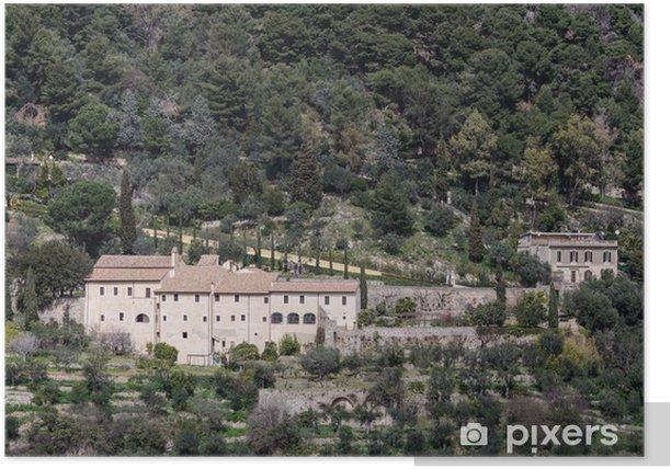 Poster Tivoli Villa Gregoriana - Urlaub