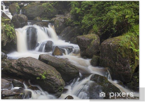 Poster Torc Wasserfall im Killarney Nationalpark - Europa