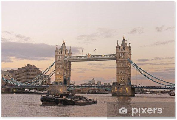 Poster Tower bridge - Themen