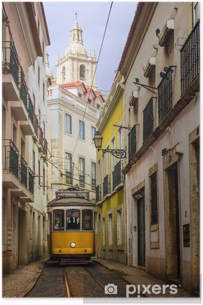 Poster Tram lisbon - iStaging