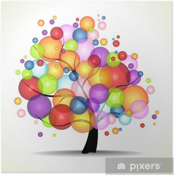 Poster TREE OF LIFE - Feste