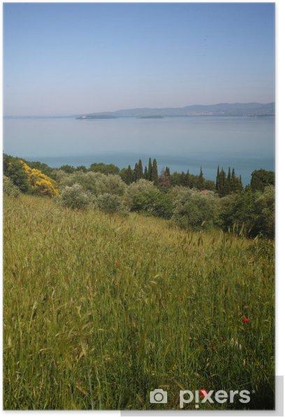 Poster Umbrien, Lago Trasimeno il - Europa