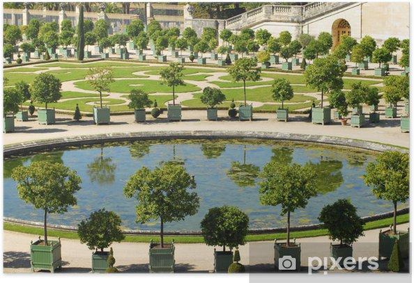 Poster Versailles Orangerie - Europäische Städte