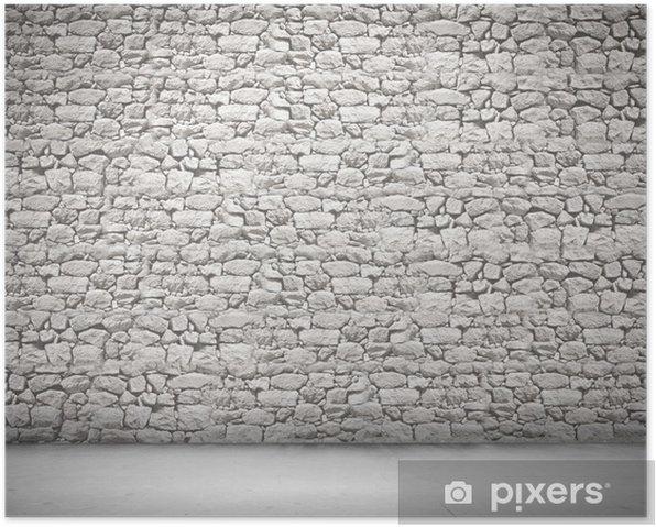 Poster Wand der Steine - Sales
