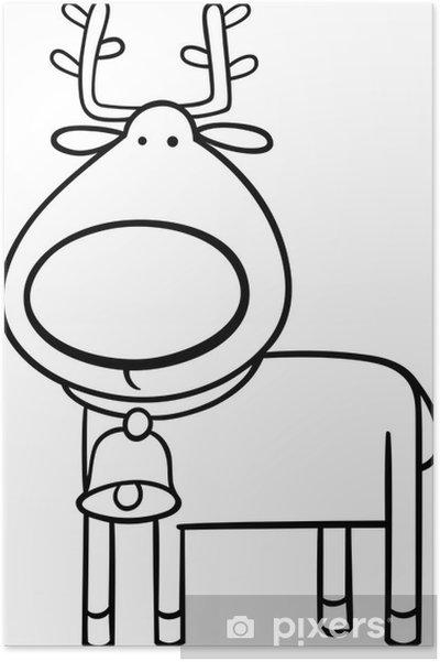 malvorlagen rentiere zeichnung  kinder zeichnen und ausmalen