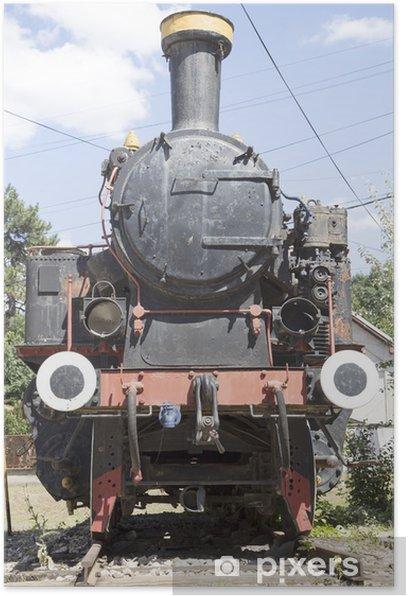 Poster Weinlese-Lokomotive - Themen