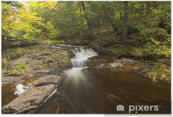 Poster Wenig Carp River Falls - Wasser
