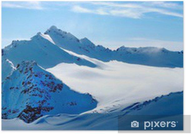 Poster Winter landschaft - Stile