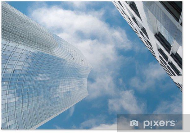 Poster Wolkenkratzer in Manhattan, New York City - Zeichen und Symbole