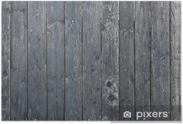 Poster Wood Fence - Themen