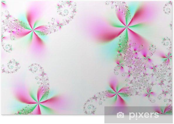 Poster Wundervolle Blumen - Blumen