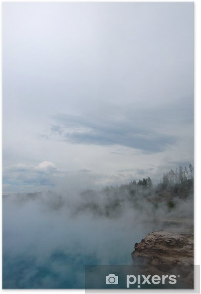 Poster Yellowstone-Geysir - Amerika