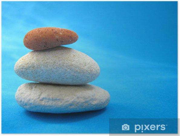 Poster Zen - Leistung und Erfolg
