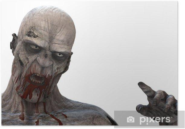 Poster Zombie - Sonstige Gefühle