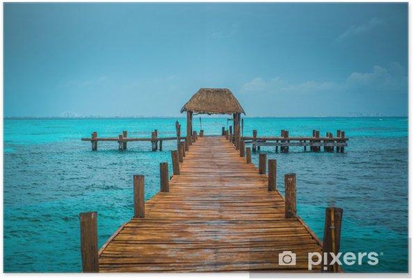 Póster Caribbean pier - Temas