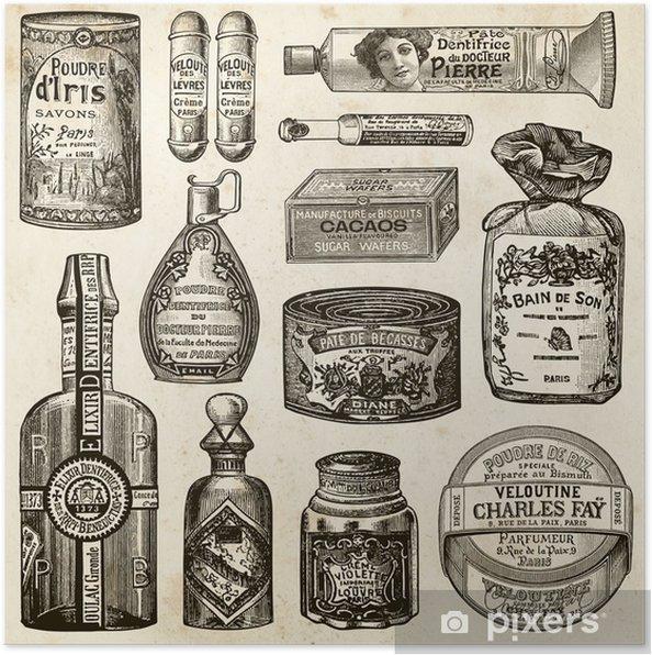 Póster épicerie - Beleza e Cuidados com o Corpo