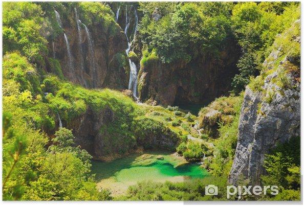Póster Plitvice lakes in Croatia - Temas