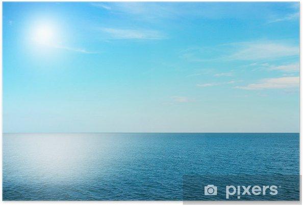 Póster Sky and sea - Água