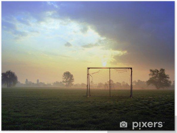 Póster Soccer goal - Times