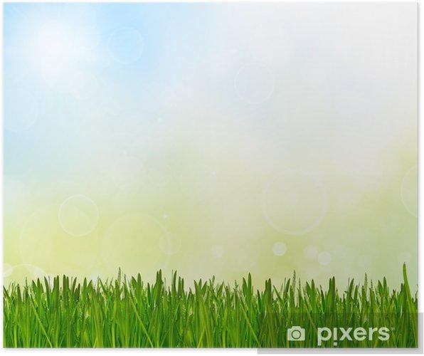 Bahar Soyut Doğa Arka Plan Poster Pixers Haydi Dünyanızı