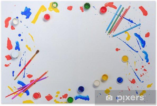 Boyama Ve çizim Hobi Poster Pixers Haydi Dünyanızı Değiştirelim