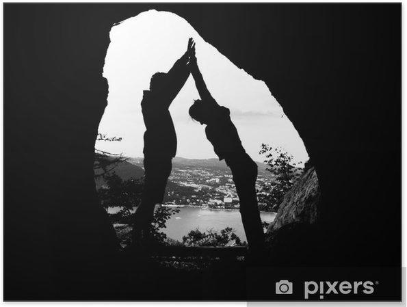 Poster Grotte - Dağlar