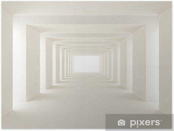 Poster Işık tünel -
