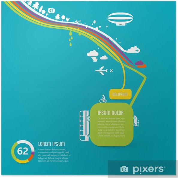 Korkak Grafik Tasarım Arka Plan Poster Pixers Haydi Dünyanızı