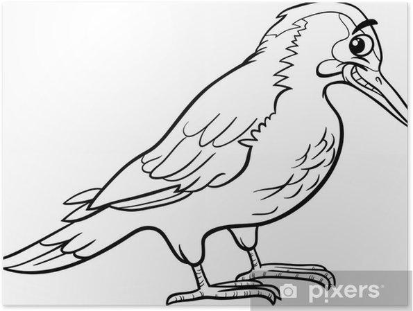 Kuş Hayvan Boyama Yaffle Poster Pixers Haydi Dünyanızı