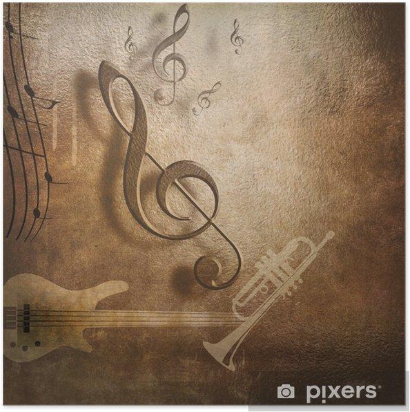 Poster Tasarımı Için Müzik Arka Plan Poster Pixers Haydi