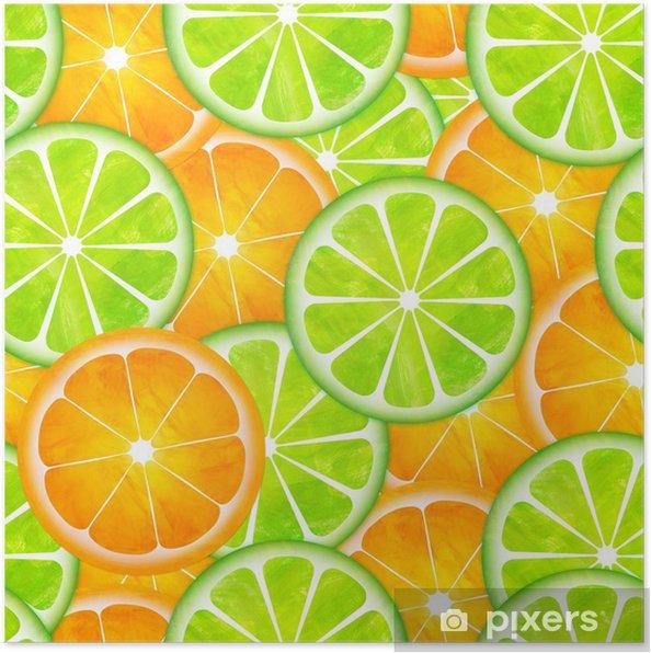 Sameless Limon Ve Portakal Model Boyama Poster Pixers Haydi