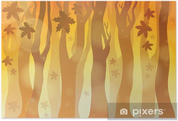 Sonbahar Teması Arka Plan 6 Poster Pixers Haydi Dünyanızı
