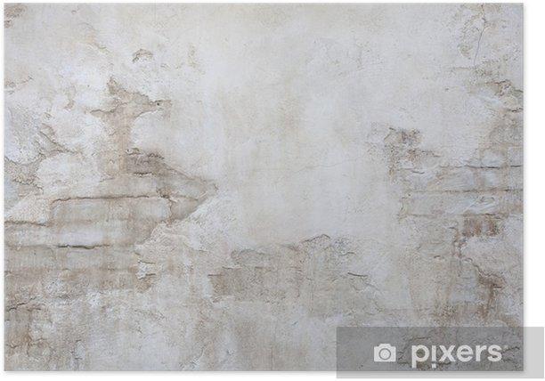 アンティークな石壁 Poster - Themes
