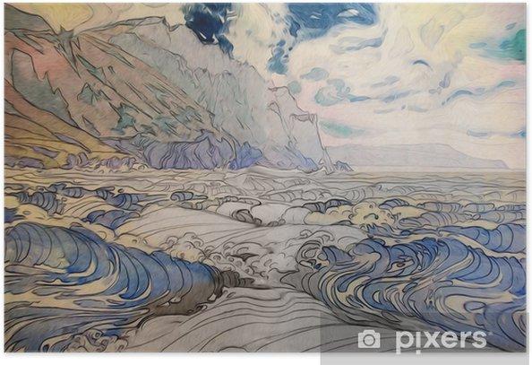 морской пейзаж Poster - Landscapes