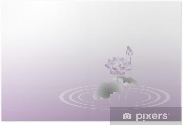 Poster 蓮 の 花 背景 - Religion