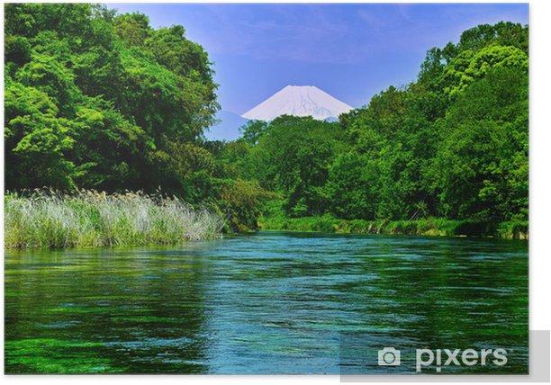 Poster 富士山 と 清流 - Thèmes