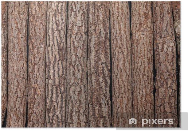 木の背景 Poster - Textures