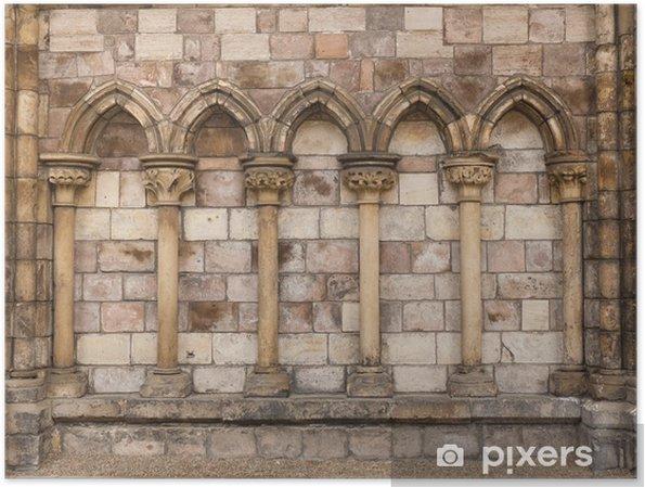 Poster 5 arches de pierre - Thèmes