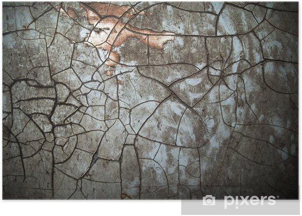 Abstract grunge color Poster - Textures