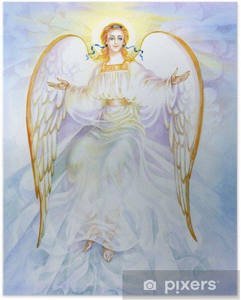 "Póster Acuarela ""Angel"" - Temas"