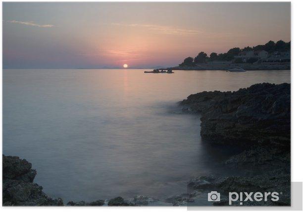 Poster Adriatique coas - Vacances
