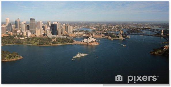 Poster Aérienne horizon de Sydney - Thèmes