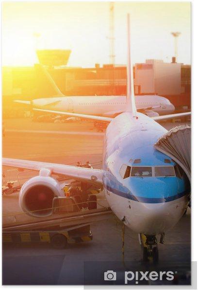 Poster Aéroport - Dans les airs
