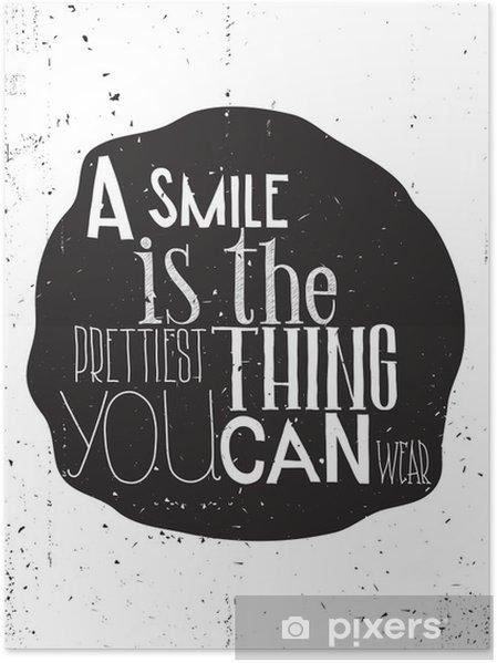 Poster Affiche de motivation simple et élégant, chaque jour - Émotions et sentiments