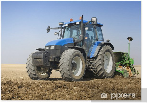 Agriculture - Tractor Poster - Themes