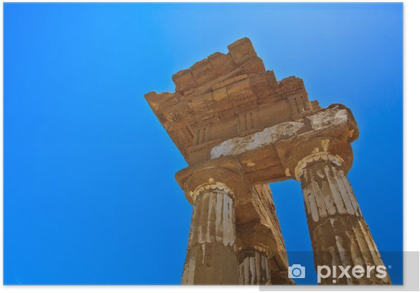 Agrigento - temples valley Poster - Europe